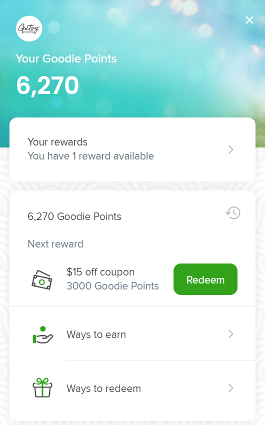 Goodie Points