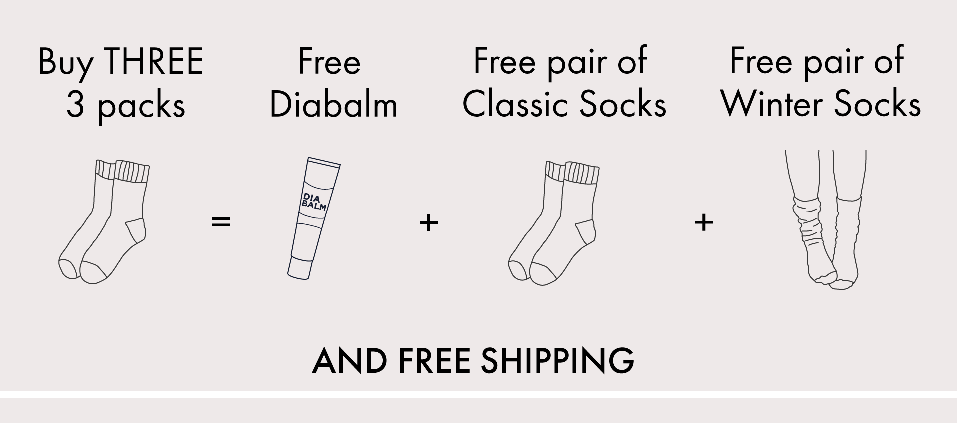 Free gifts promotion image