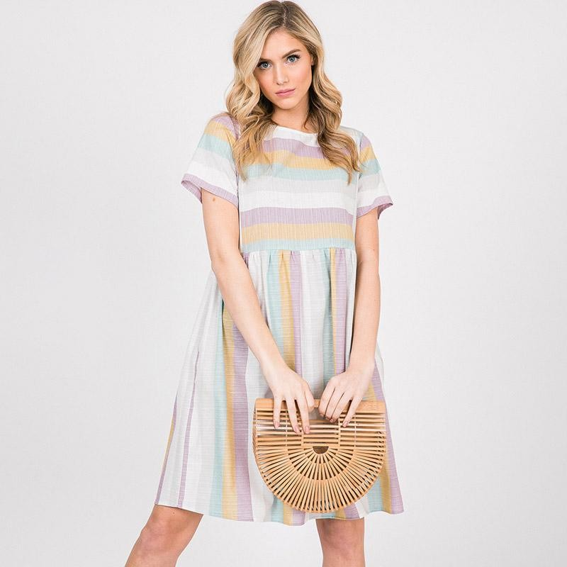 Reece Rainbow Dress