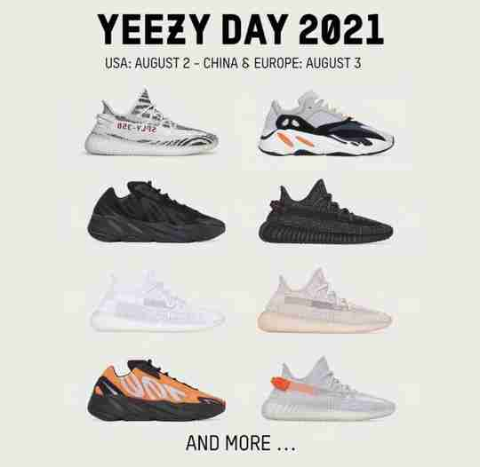 Yeezy Day Releases
