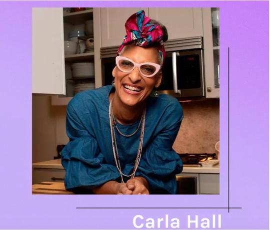 Byrdie | Caire Theoem Serum Boost with Carla Hall Image