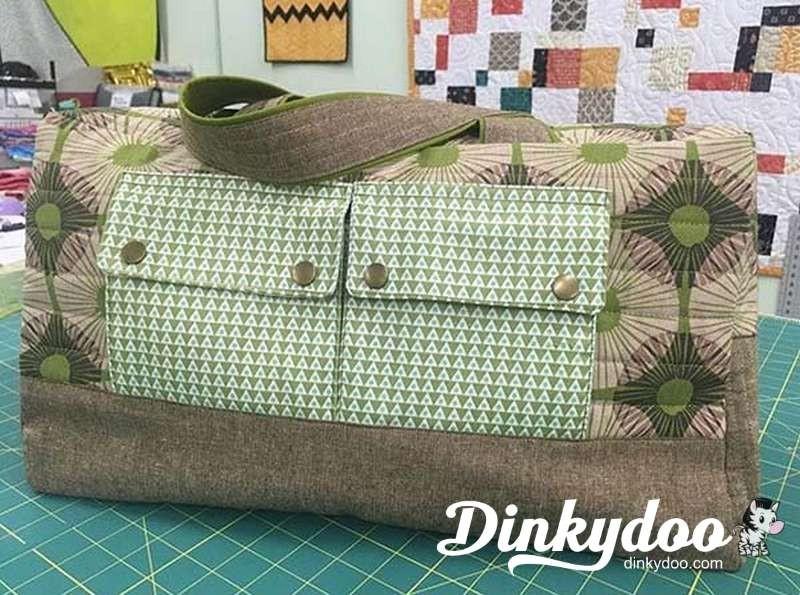 robert kaufman free pattern bag