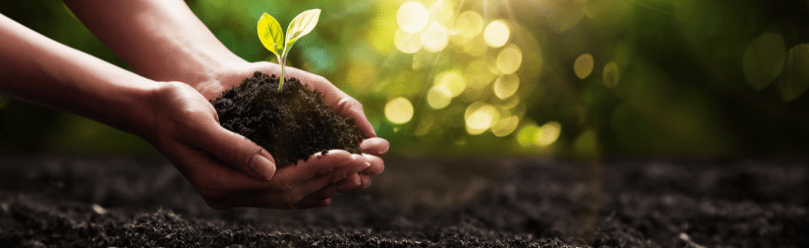 composting recycles nutrients back into the soil