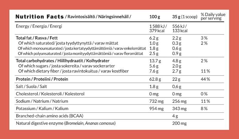 Ambronite Complete Plant Protein ravitsemus