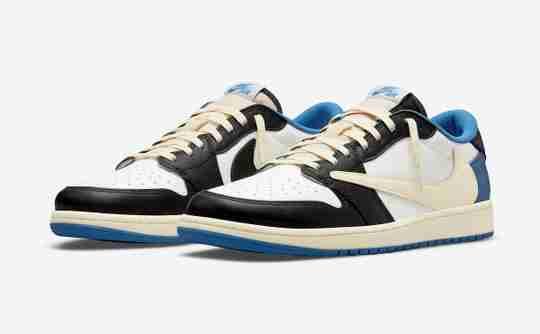 Travis Scott x fragment design x Air Jordan 1 Low