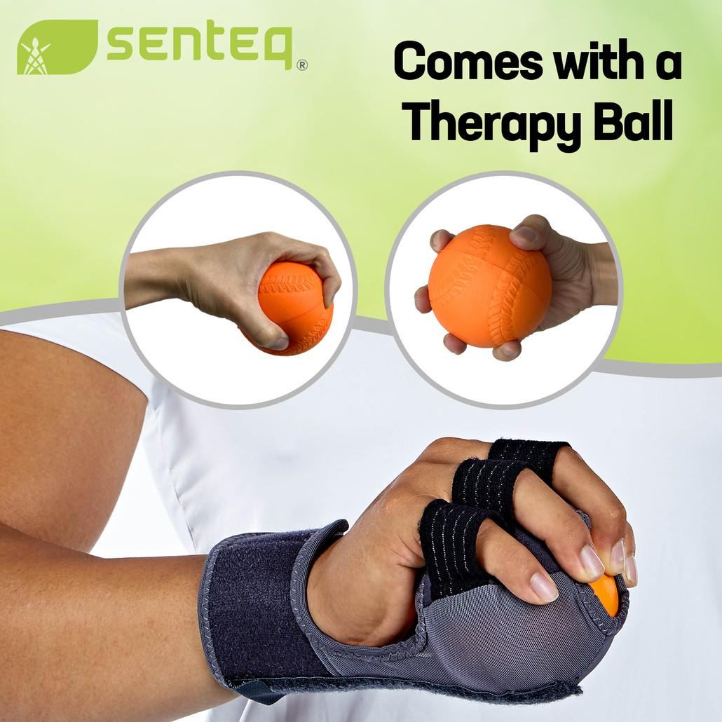 SENTEQ Hand Rehabilitation Therapy Exercise Ball - FDA Registered (SQ1-H032)