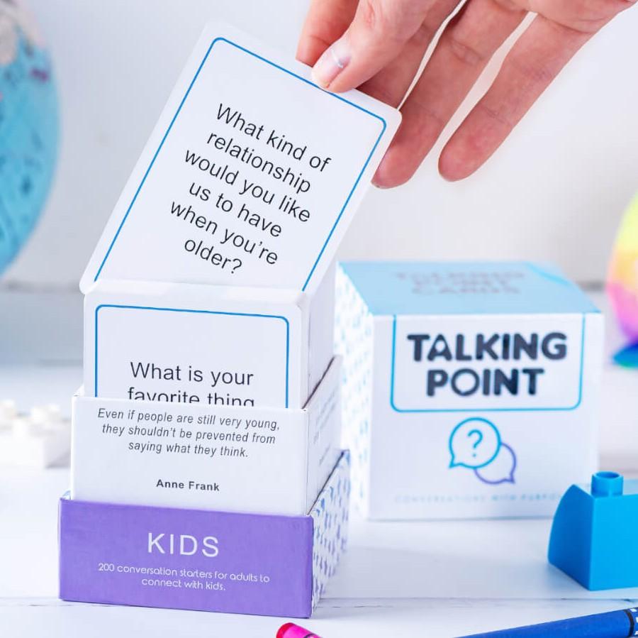 TEENS & KIDS Editions Conversation Starter Cards