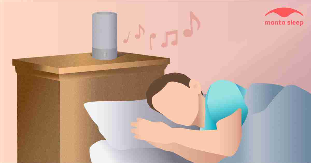 Listening to certain musics can help you relax and fall asleep faster.