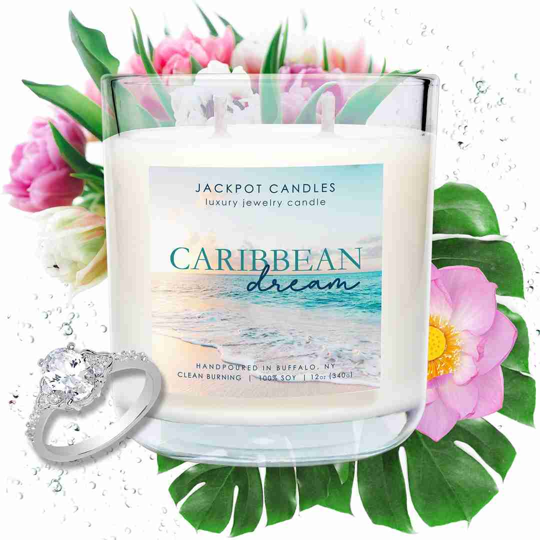 caribbean dream scented candle
