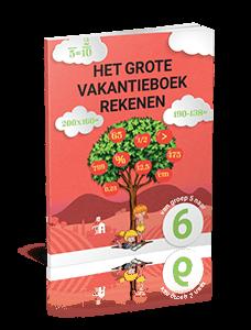 Het Grote Vakantieboek Rekenen - van groep 5 naar groep 6