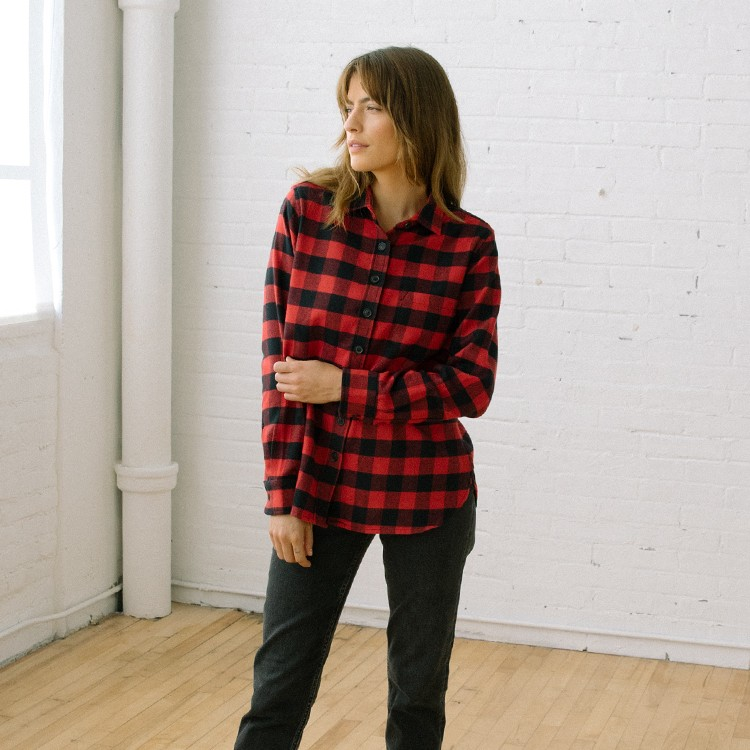 111 Flannel Arapahoe Red