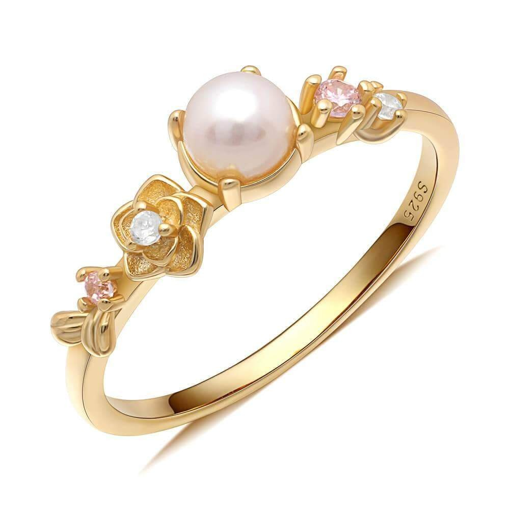 Grace pearl ring