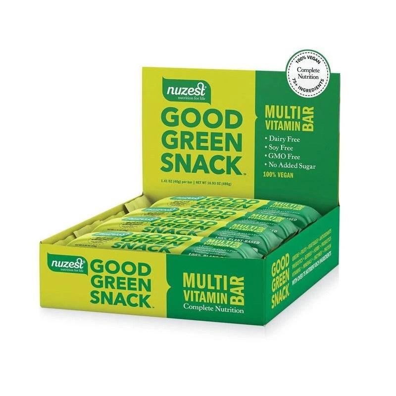 good green snack bar