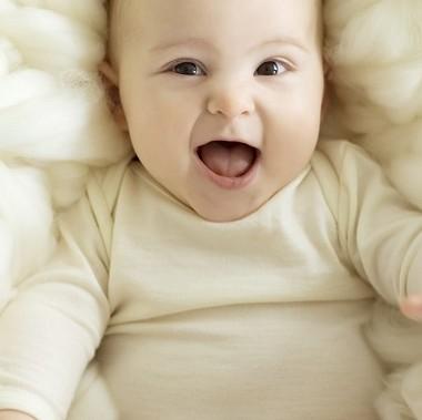 soft organic baby bodysuit