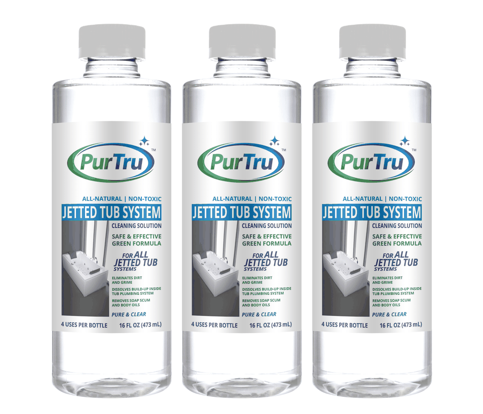 Jetted Tub System Sanitizing and Cleaning Solution (3 Pack)