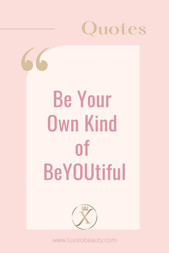 luxsio quote beyoutiful