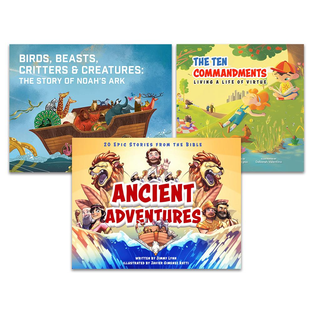 (NEW) Bible Book Bundle (3 Titles)