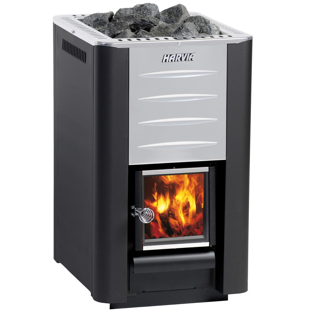 Image of a 20 Pro Harvia Wood Burning Heater