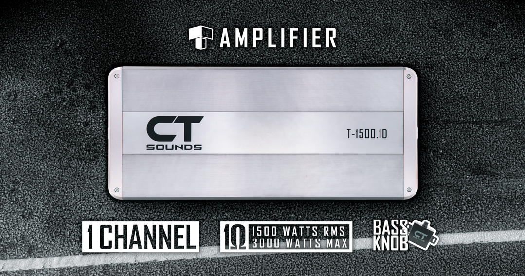 CT Sounds Monoblock Car Audio Amplifiers