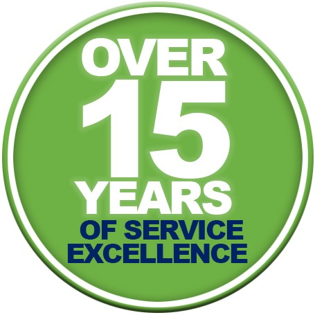 Over 15 years of excellence
