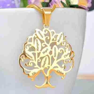 Tree of my Life Necklace
