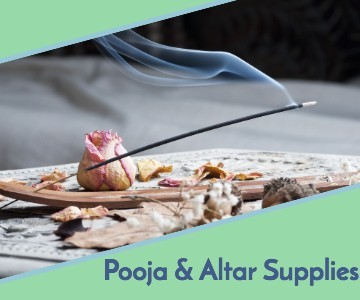 pooja and altar supplies