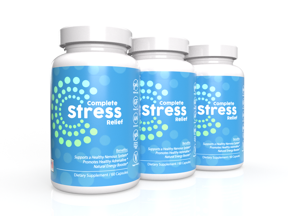 3-Pack: Complete Stress Relief