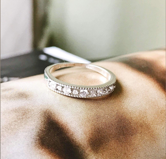 The Joyce Layered Stack Ring.