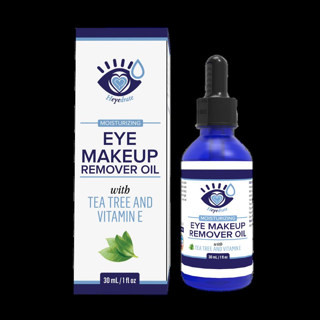 Heyedrate Eye Makeup Remover with Tea Tree Essential Oil