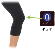 nCAP Pain Relief Device knee pain, acl, mcl, pcl relief