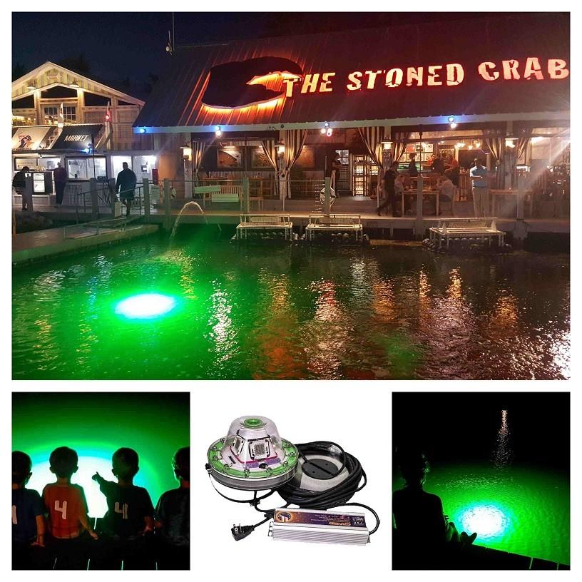 green-led-dock-light