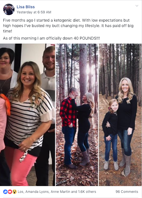 Lisa Keto Journey