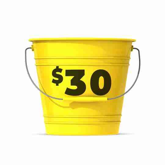 Shop $30 Bucket