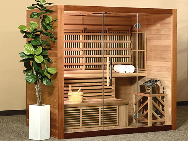 Image of a Hybrid Sauna