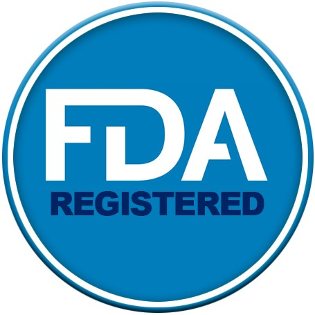Registered with the FDA
