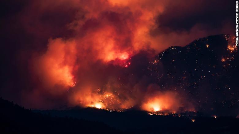 Lytton forest fire