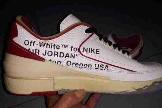 Off-White x Jordan 2