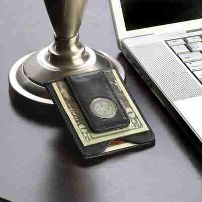 Money Clip Monogram Wallet for Men's Gifts