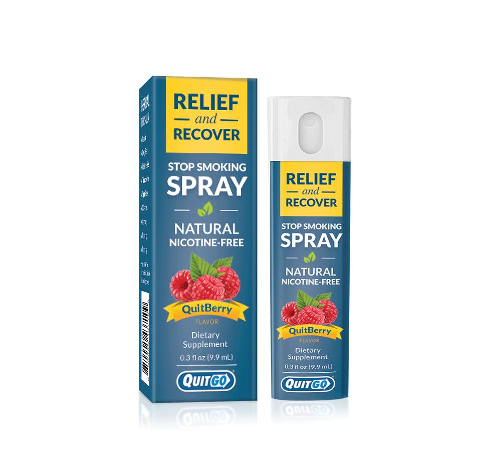 QuitGo® | Relief & Recover Spray