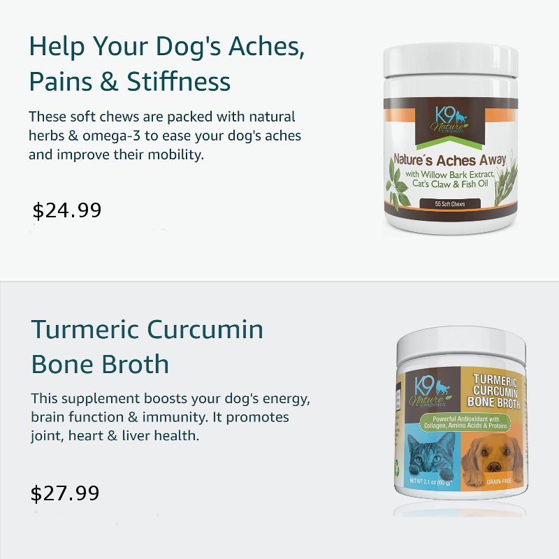 natures aches away and turmeric curcumin bone broth products