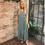 Alison Tiered Maxi Dress Blue