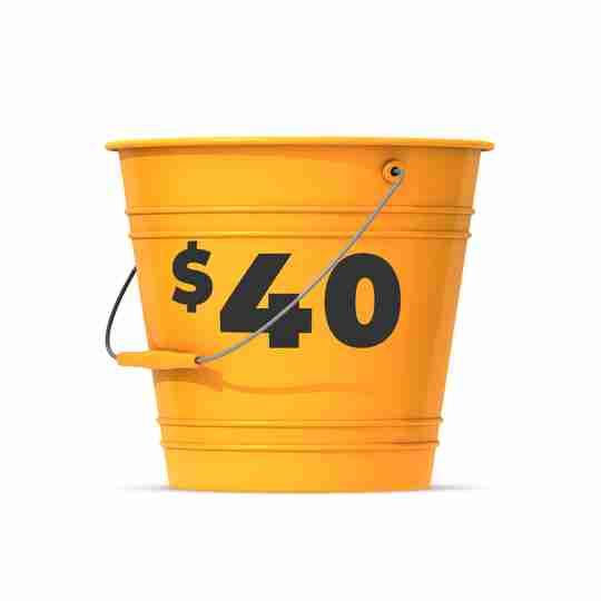 Shop $40 Bucket