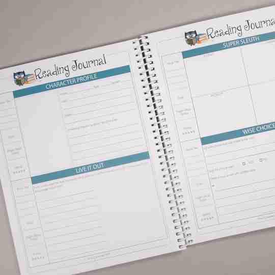 home school Reading Journal