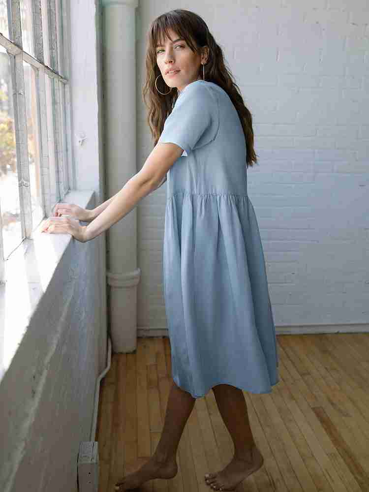 The Perfect Linen Dress - The Nico Dress Surf