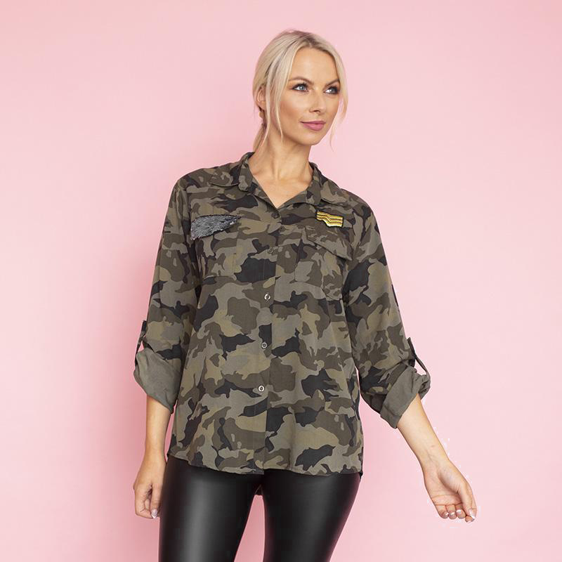 Katy Shirt(Army)