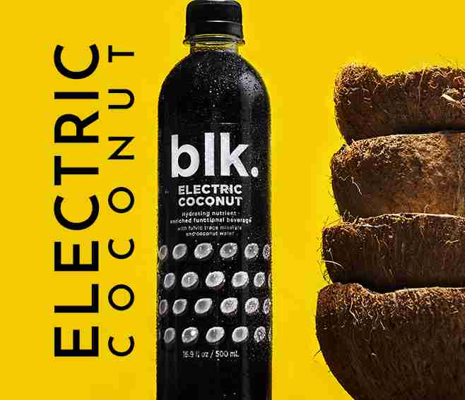 blk. Electric Coconut Excellent For Boosting Immune System All Natural Functional Water