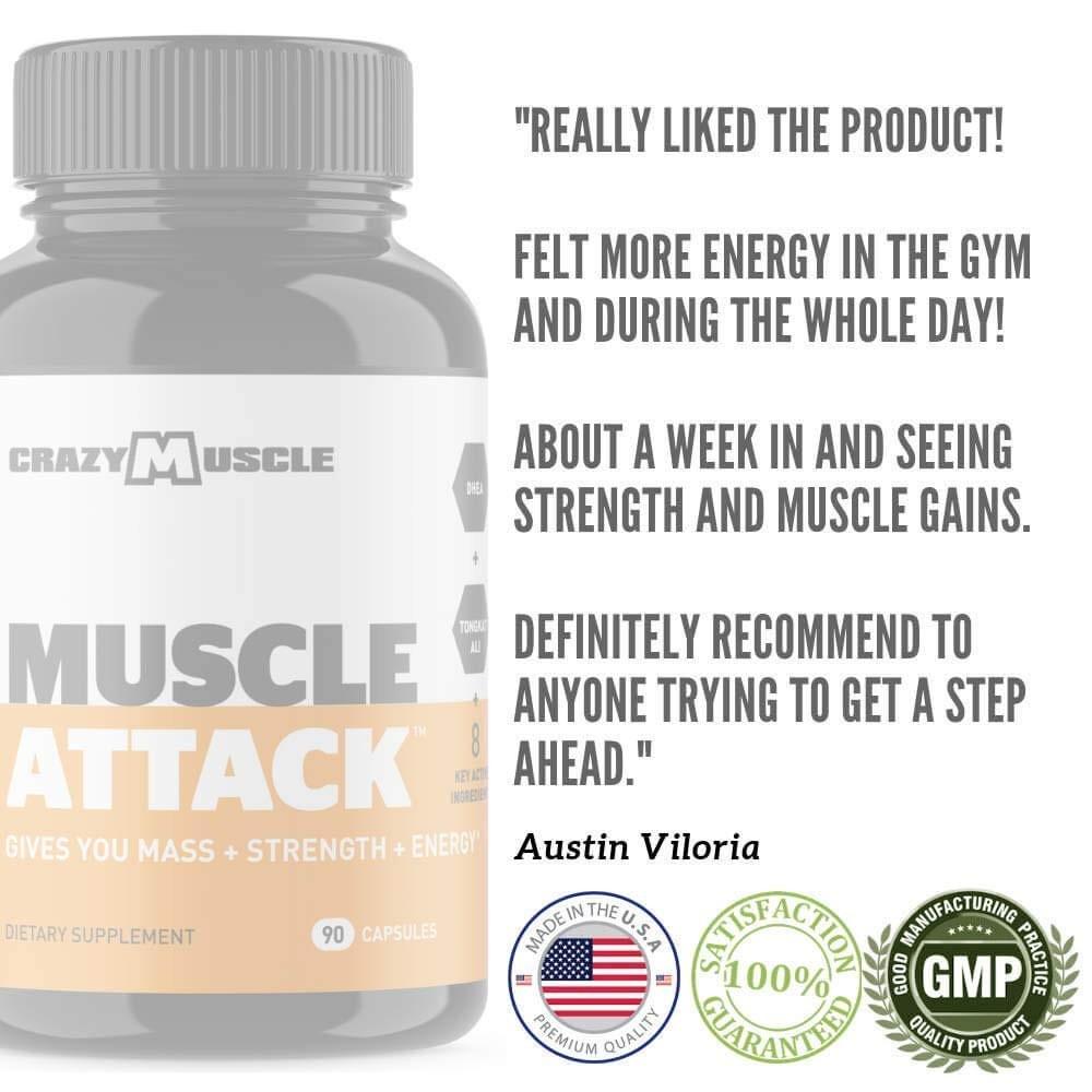 Austin - Crazy Muscle Testimonial