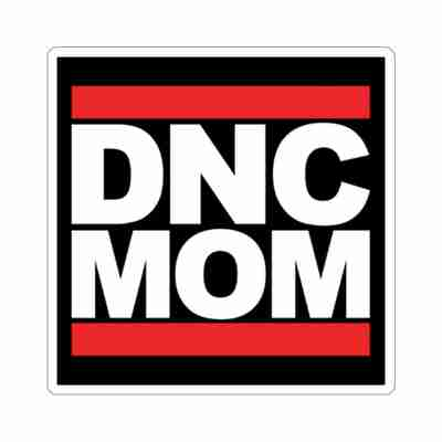 DNC MOM-Cut Stickers