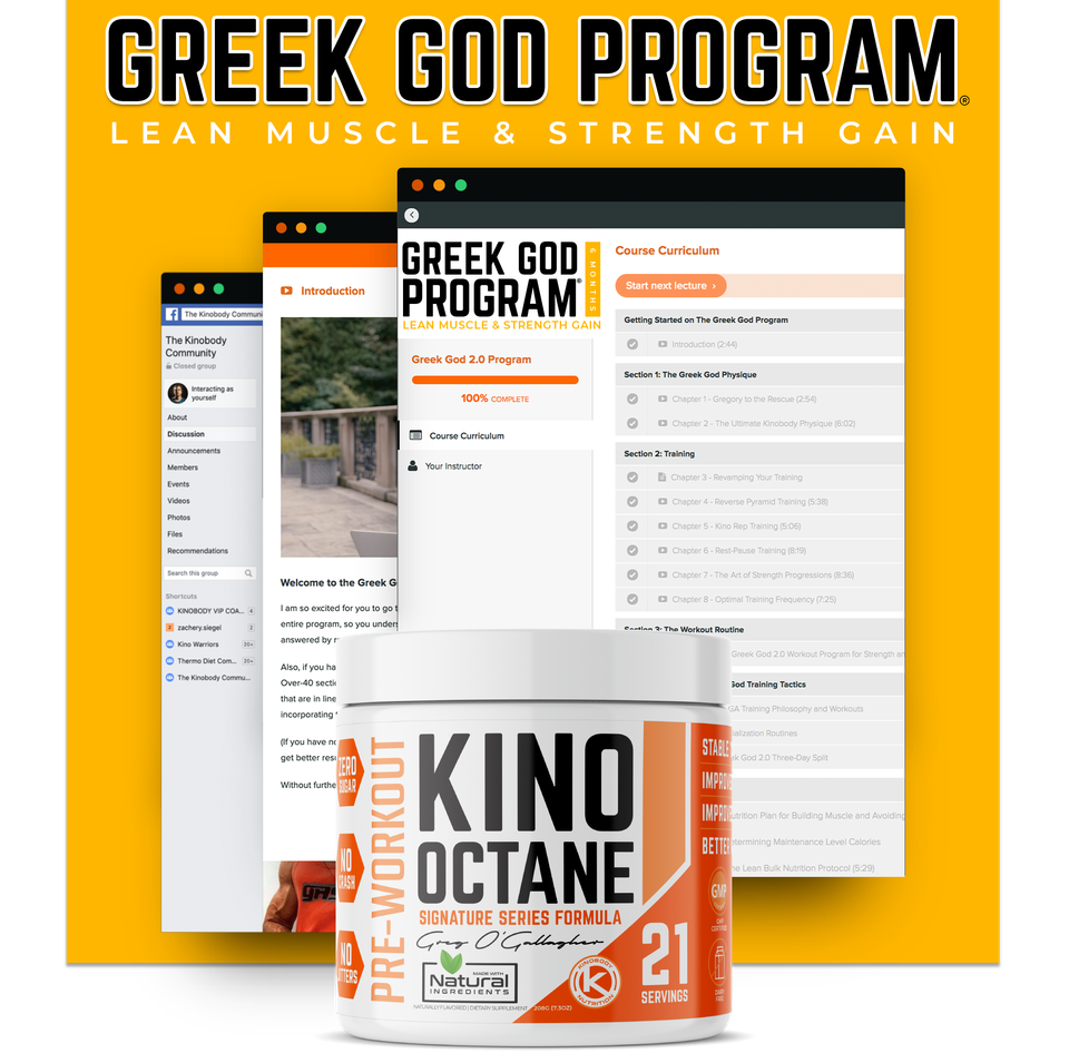 Greek God Program with 1 Octane
