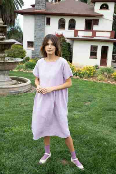 Spring Capsule Wardrobe | Nico Linen Dress